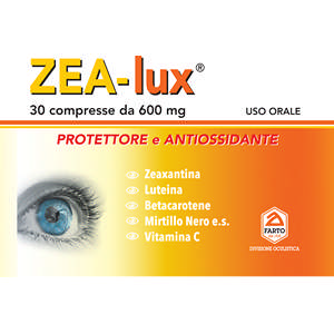 ZEA- LUX – Complemento stress ossidativo – 30 compresse 600 mg