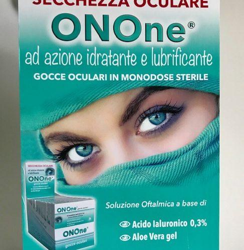 ON One 10 monodose sterile – Acido Ialuronico 0,3% + Aloe vera gel